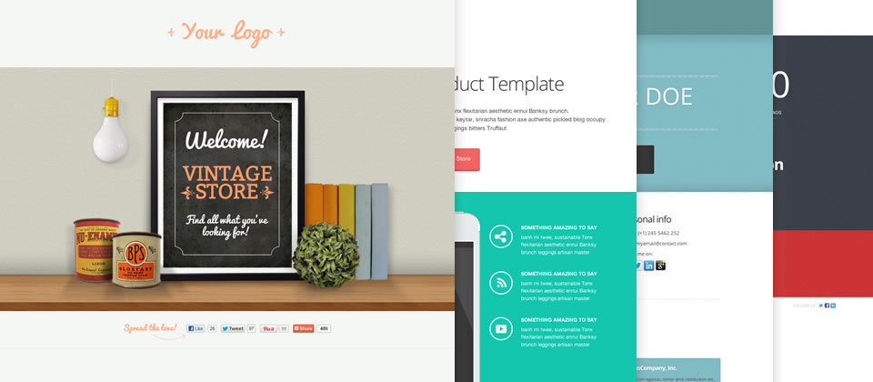 Landing Page Templates for Any Marketing Goal