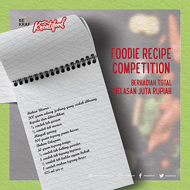 Foodie Recipe Kreatifood
