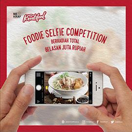 Foodie Selfie Kreatifood
