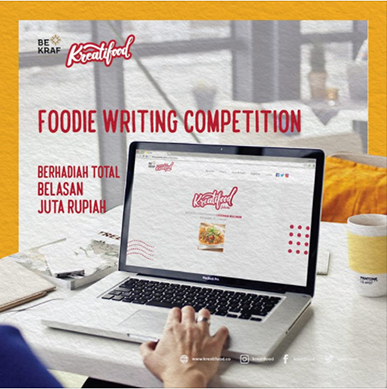 Foodie Writing Competition