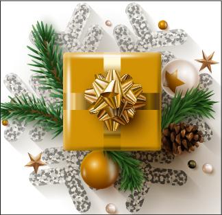 Caja navideña modelo Oro