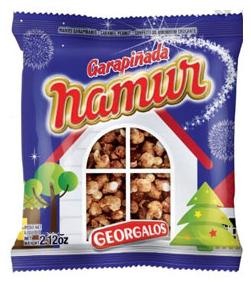 garrapiñadas namur de maní - georgalos por 110 grs