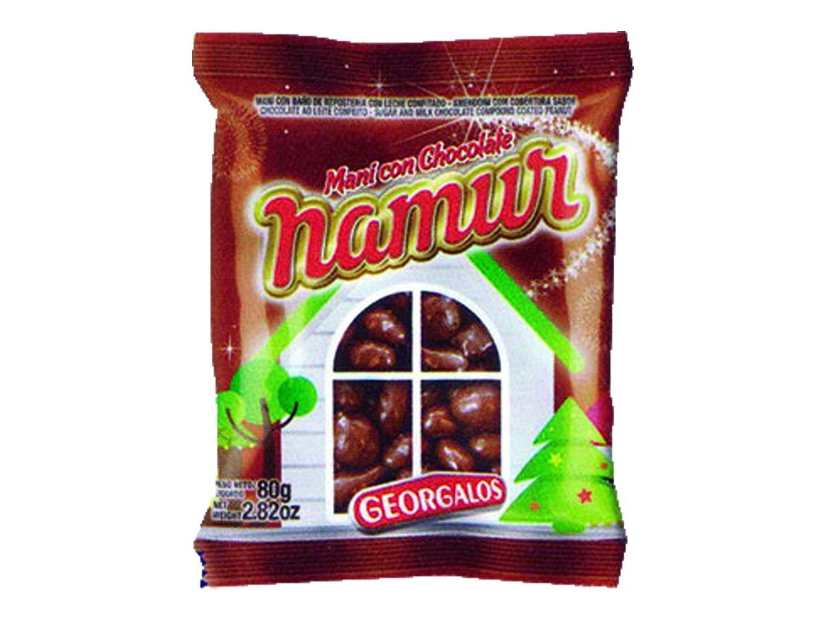 Crocante Namur de Maní 80 grs con Chocolate
