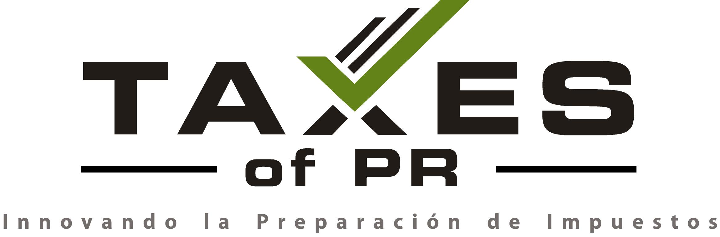 Taxes of P.R. Software Programa Preparación de impuestos Planillas Taxwise Taxpro Federal Income tax