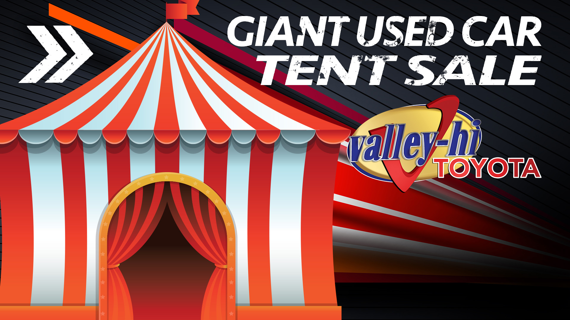 Valley Hi Toyota Tent Sale